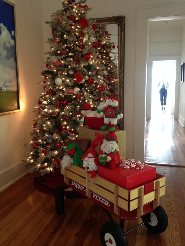 ¡Julio preparando Navidad!